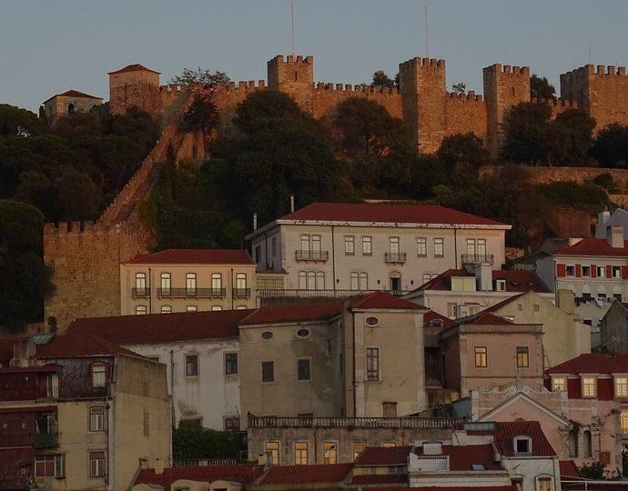 Le château de Saint Georges de Lisbonne
