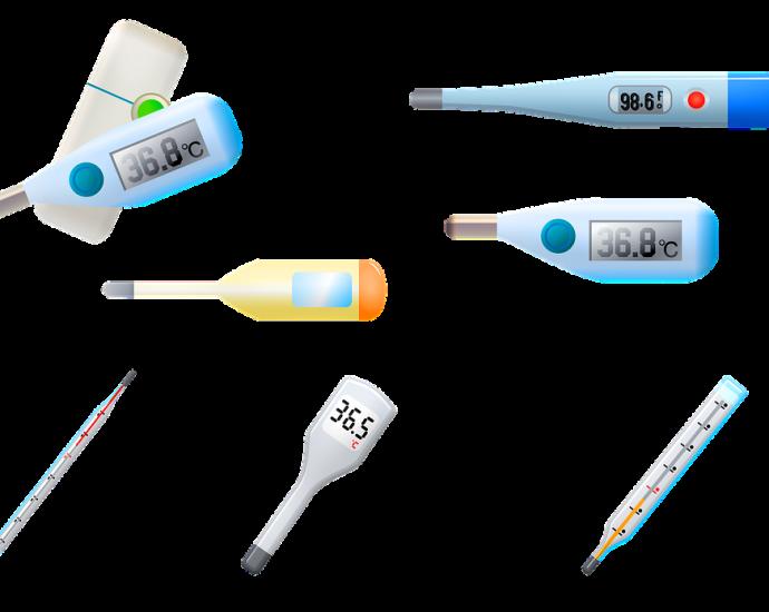 Thermomètre, La Santé, La Fièvre, Infirmière, Médicaux