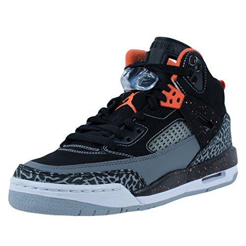 Jordan Spizike (GS) Baskets Junior - Noir - Black/Electric Orange-Cool Grey-Wolf Grey,