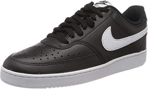 Nike Court Vision Lo, Sneakers Basses Homme, Noir (Black/White-Photon Dust 100), 40.5 EU