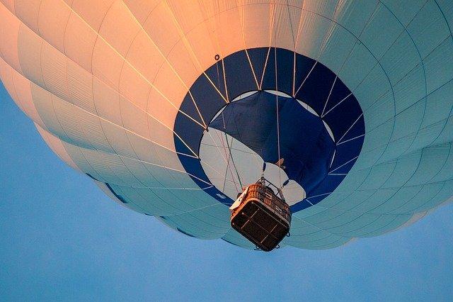 ballon à air chaud, montgolfière, les sports à l'air