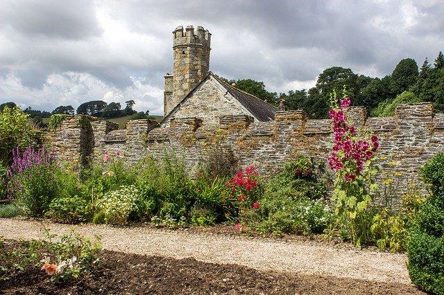 dartmoor, jardin à l'anglaise, manor house