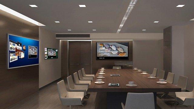 design d'intérieur, tv, multi-écran