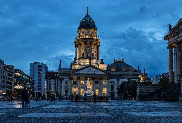 heure bleue, berlin, cathédrale de berlin
