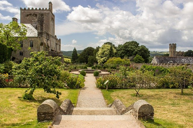 jardin à l'anglaise, dartmoor, parc