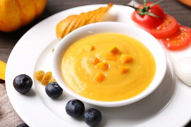 soupe, alimentaire, bol