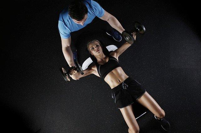 sport, musculation, femme