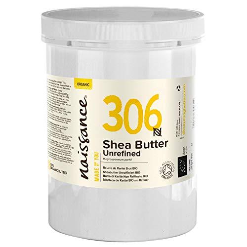 Naissance Beurre de Karité Brut BIO (n° 306) - 1kg - 100% pur, non raffiné, naturel et certifié BIO - Malaxé à la main - végan - Approvisionnement éthique et durable au Ghana