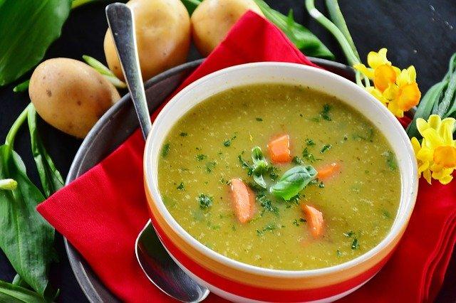soupe de pommes de terre, de pommes de terre, soupe