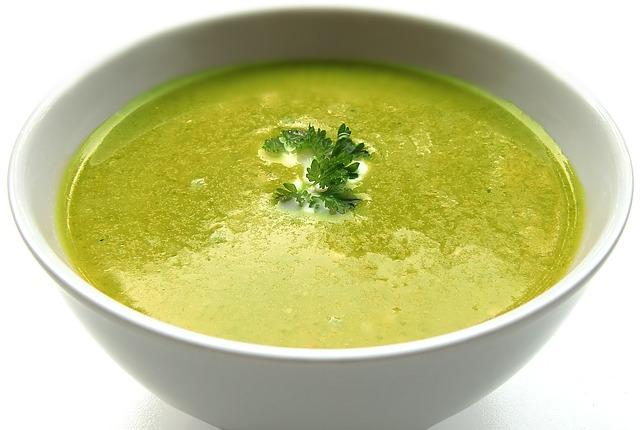 soupe, soupe crème, bol