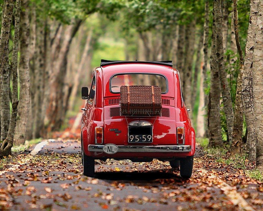 Fiat, Fiat 500, Voiture, Voiture Ancienne, Véhicule
