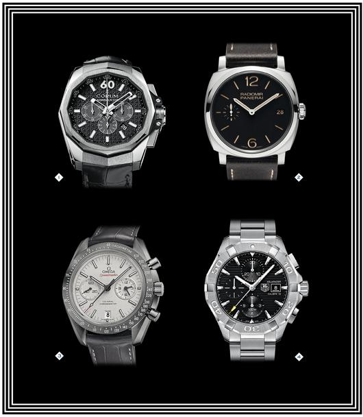 Mode homme 2021/2022 : Montre luxe